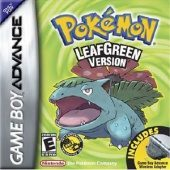 Box shot of Pokémon LeafGreen [North America]