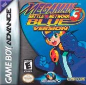 Box shot of Mega Man Battle Network 3 Blue [North America]