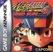 Box shot of Mega Man Battle Network 4: Red Sun [North America]