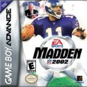 Box shot of Madden NFL 2002 [North America]