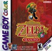 Box shot of The Legend of Zelda: Oracle of Seasons [North America]