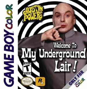 Austin Powers: <br>Welcome To My Underground Lair - GBC - NTSC-U (North America)