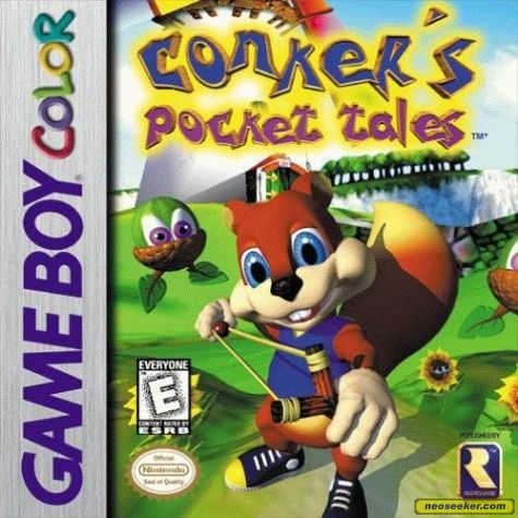 Conker's Pocket Tales - GBC - NTSC-U (North America)