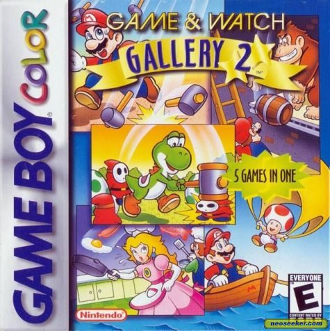 Game & Watch Gallery 2 - GBC - NTSC-U (North America)