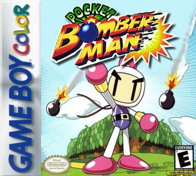 Pocket Bomberman GBC Front cover