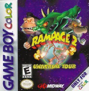 Rampage 2: Universal Tour - GBC - NTSC-U (North America)