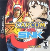 Box shot of Capcom vs. SNK [North America]