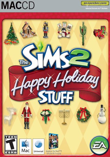 The Sims 2: Happy Holiday Stuff - Mac - NTSC-U (North America)