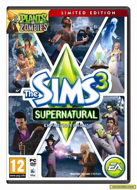 The Sims 3: Supernatural - Mac - PAL (Europe)