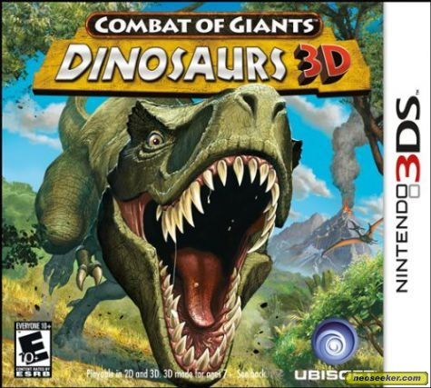 Combat of Giants: Dinosaurs 3D - 3DS - NTSC-U (North America)