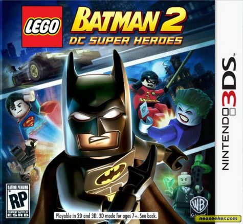 Lego Batman 2: DC Super Heroes - 3DS - NTSC-U (North America)