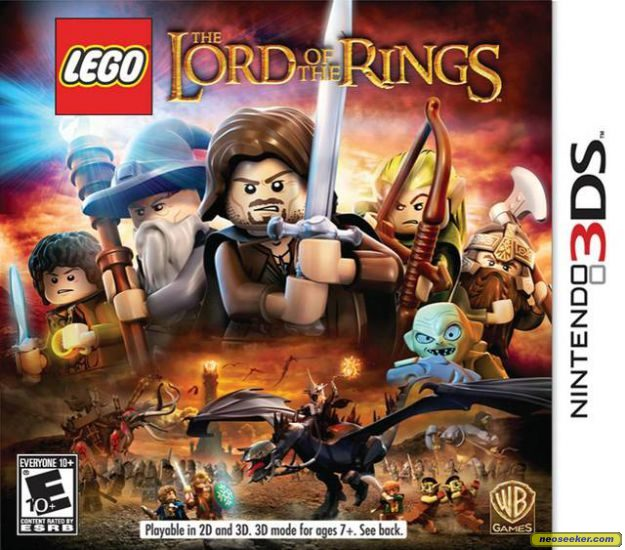 Ds Lego Lord Of The Rings Character List
