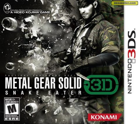 Metal Gear Solid: Snake Eater 3D - 3DS - NTSC-U (North America)