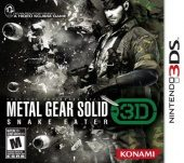 Box shot of Metal Gear Solid: Snake Eater 3D [North America]