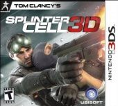 Tom Clancy's Splinter Cell 3D (North America Boxshot)