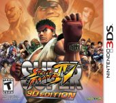 Box shot of Super Street Fighter IV 3D Edition [North America]