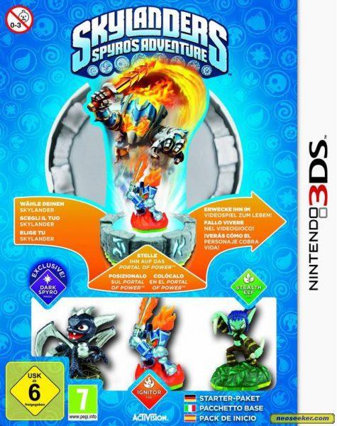 Skylanders: Spyro's Adventure - 3DS - PAL (Europe)