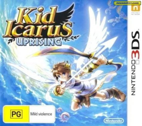 Kid Icarus: Uprising - 3DS - PAL (Australia)