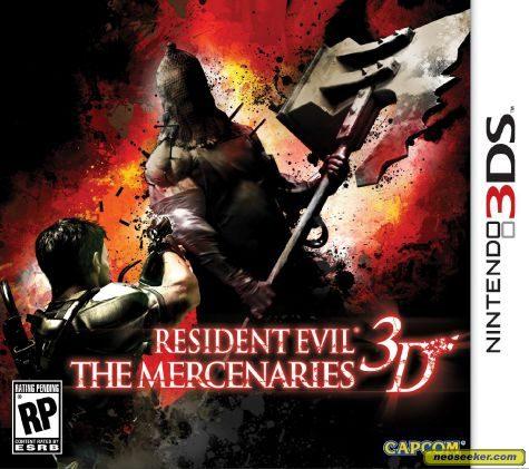 Devant de la boîte de Resident Evil: The Mercenaries 3D