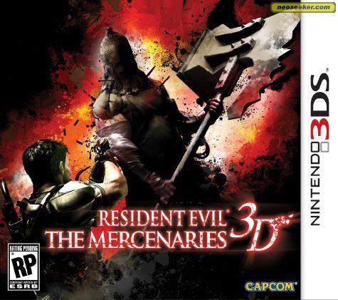 Resident Evil: The Mercenaries 3D - 3DS - NTSC-U (North America)