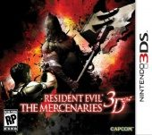 Resident Evil: The Mercenaries 3D (North America Boxshot)