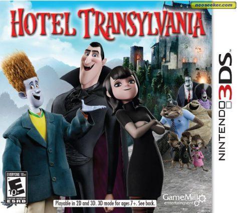 Hotel Transylvania - 3DS - NTSC-U (North America)