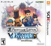Box shot of Professor Layton vs. Phoenix Wright: Ace Attorney [North America]