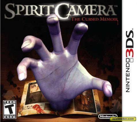 Spirit Camera: The Cursed Memoir - 3DS - NTSC-U (North America)