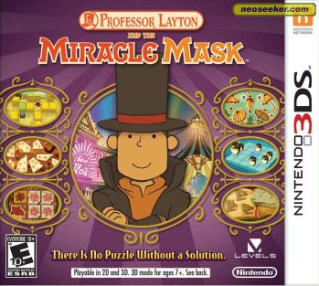 Professor Layton and the Miracle Mask - 3DS - NTSC-U (North America)