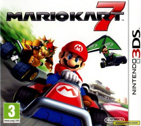 mario kart 7 3ds front cover. Black Bedroom Furniture Sets. Home Design Ideas