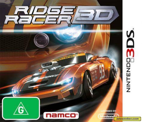 Ridge Racer 3D - 3DS - PAL (Australia)