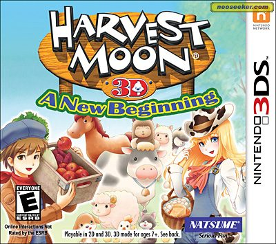 Harvest Moon 3D: A New Beginning - 3DS - NTSC-U (North America)