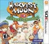 Box shot of Harvest Moon 3D: A New Beginning [North America]