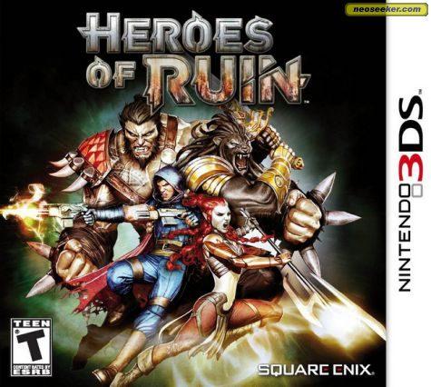 Heroes of Ruin - 3DS - NTSC-U (North America)