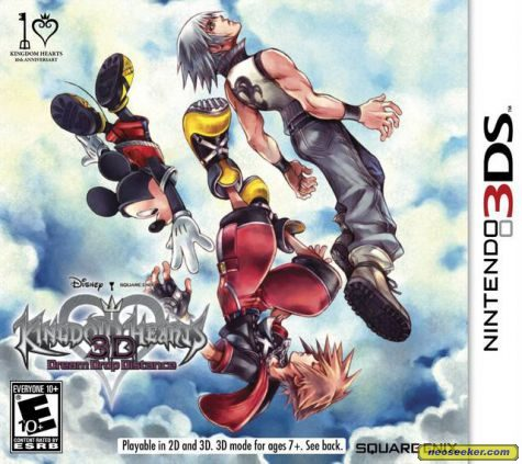 Kingdom Hearts 3D [Dream Drop Distance] - 3DS - NTSC-U (North America)