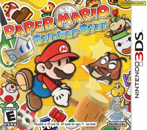 Paper Mario: Sticker Star - 3DS - NTSC-U (North America)