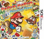 Paper Mario: Sticker Star (North America Boxshot)