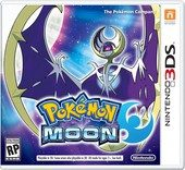 Box shot of Pokémon Moon [North America]
