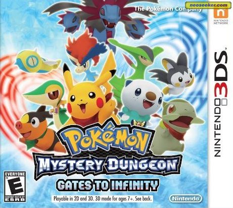 Pokémon Mystery Dungeon: Gates to Infinity - 3DS - NTSC-U (North America)