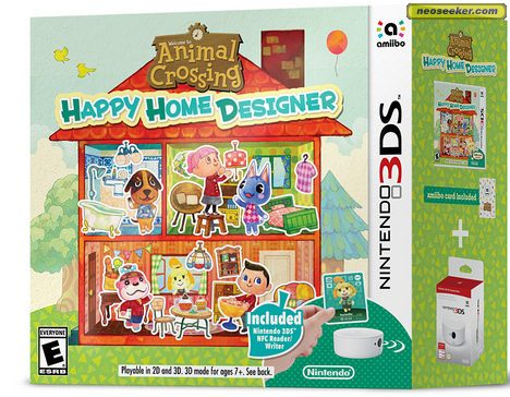 Animal Crossing Happy Home Designer Box Art And Scans 3ds