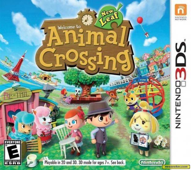 Animal Crossing: New Leaf - 3DS - NTSC-U (North America)