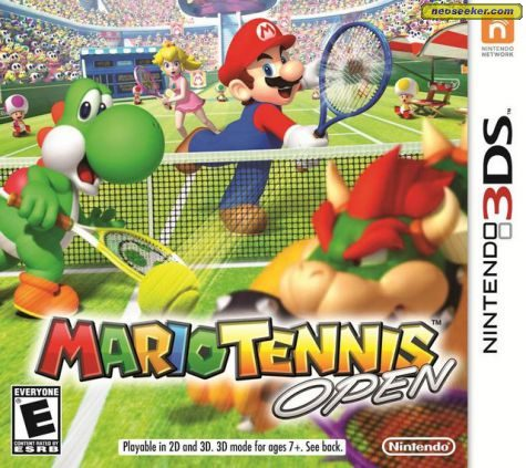 Mario Tennis Open - 3DS - NTSC-U (North America)