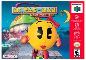 Ms Pac-Man Maze Madness - N64 - NTSC-U (North America)