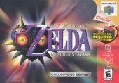Box shot of The Legend of Zelda: Majora's Mask [North America]