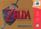 Box shot of The Legend of Zelda: Ocarina of Time [North America]