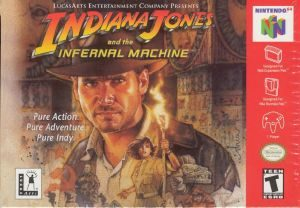 Indiana Jones and The Infernal Machine - N64 - NTSC-U (North America)