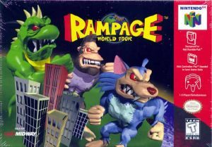Rampage: World Tour - N64 - NTSC-U (North America)