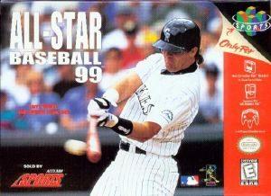 All-Star Baseball '99 - N64 - NTSC-U (North America)