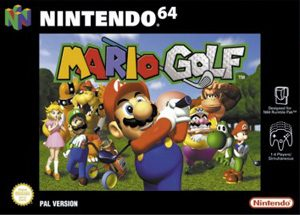 Mario Golf - N64 - PAL (Europe)