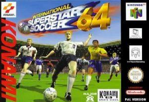 International Superstar Soccer 64 - N64 - PAL (Europe)